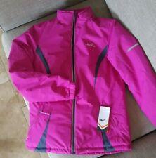 Ellesse padded winter jacket hot pink size 10