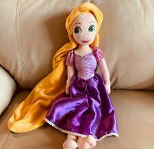 "Disney Tangled Rapunzel Princess Soft  Plush/Stuffed doll  Toy 20"" Purple Dress"
