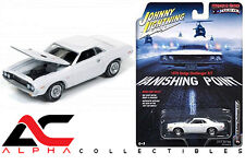 JOHNNY LIGHTNING 1:64 JLCP6001 VANISHING POINT 1970 DODGE CHALLENGER R/T WHITE