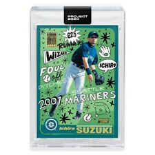 Topps Project 2020 Ichiro Suzuki # 62 2001 Baseball 726 RC SP - Sophia Chang