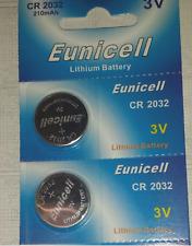 4x Knopf - Batterie EUNICELL CR-2032 3V 210 MAh Lithium Battery #60