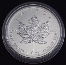 2012 1 OZ (ca. 28.35 g) Argento Canadese Maple Leaf Coin 9999 AG