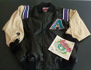ARIZONA DIAMONDBACKS Baseball MAJESTIC Diamond Collection VINTAGE Youth S Jacket