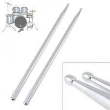 Aluminum Alloy 5A Drum Sticks Percussion Stick for Drummers Musical Playing H