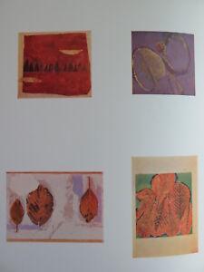 Josef Albers Original Silkscreen Folder XXV-3 Left Interaction of Color 1963