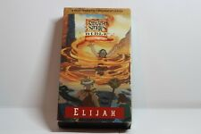 Nest Animated Stories From The Bible Elijah VHS Casette Tape