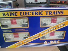 K LINE K 6278A D&H  ORE CAR SET NEW IN BOX   SHARP