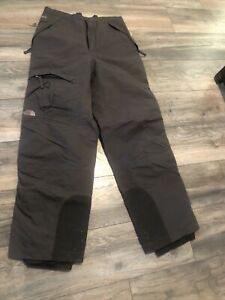 The North Face Hyvent Gray Snow Pants Men's Xl Nice Waterproof