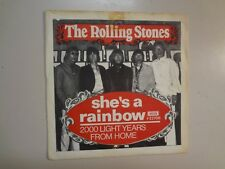 """ROLLING STONES:She's A Rainbow-2,000 Light Years From Home-Sweden 7""""68 Decca PSL"""