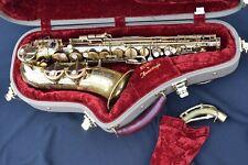 SML, King Marigaux Eb Alto Saxophone