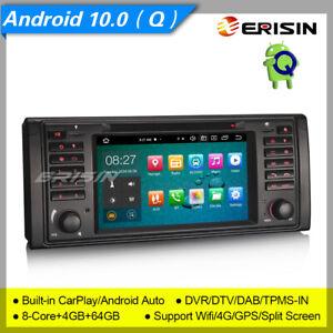 8 Core Android 10 BMW E53 E39 Car DVD Player X5 M5 5er DAB+ DSP CarPlay DVR 8139