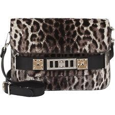 New Proenza Schouler Leopard Print Haircalf PS11 Mini Classic Bag $2350