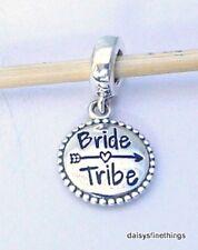 NEW! AUTHENTIC PANDORA SILVER CHARM BRIDE TRIBE #791169_31 WEDDING PARTY BOX