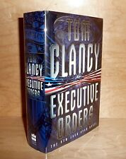 EXECUTIVE ORDERS by Tom Clancy : JACK RYAN NOVEL Tru UK HB 1st!