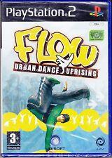 Ps2 PlayStation 2 **FLOW URBAN DANCE UPRISING** nuovo sigillato