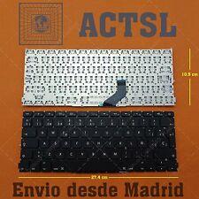 Teclado Español para Apple Macbook A1425 Black sin backlight