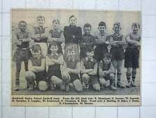 1960 Stockwell Junior School Football Team Sopotek Lockwood Starling Drake Short