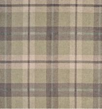Clarence House Wool Plaid Upholstery Fabric- Marcello / Brown 3.10 yd 34921-2