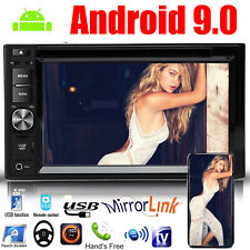 6.2 inch Android 9.0 Double 2 Din Car DVD CD Player Radio Stereo Universal
