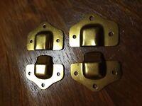 Vintage Brass Decorative 2 Sets of Trunk Closure Latches~ Restoration Hardware