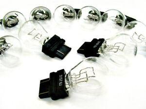 10 Chrysler 3157 12v Brake Tail Light Turn Signal Bulbs Stop Lamps NOS Quality