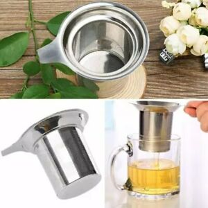 Stainless Steel Mesh Tea Infuser Reusable Strainer Loose Tea Leaf Spice Filter