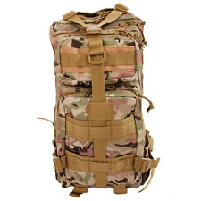 25L Military Tactical Backpack Army 420D Assault Pack Waterproof Molle Bag