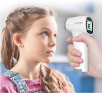 New Digital Infrared Thermometer Forehead Temperature gun LCD Backlight Alarm CE