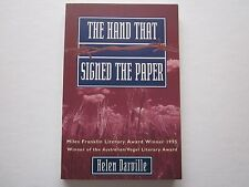 THE HAND THAT SIGNED THE PAPER - HELEN DARVILLE ( DEMIDENKO )
