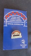 Sydney 2000 Olympic Closing Ceremony Pin Badge