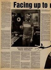 Genesis Phil Collins UK Interview/article 1981 MM-DFWE