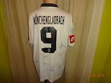 Borussia Mönchengladbach Lotto Matchworn Trikot + Nr.9 + Handsigniert Gr.XL
