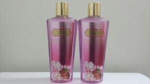 2 VICTORIA'S SECRET STRAWBERRIES & CHAMPAGNE BODY Wash Shower Gel X 2