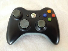 XBOX 360 ELITE BLACK WIRELESS CONTROLLER AND MATCHING BLACK HEADSET