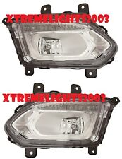 CHEVY EQUINOX 2016-2017 LEFT RIGHT FOG LIGHTS DRIVING LAMPS BUMPER NEW PAIR SET