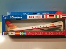 WOOSTER MODEL AIR HONG KONG 747-200 1:250 SCALE PLASTIC SNAPFIT MODEL
