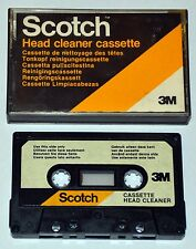 Cassette Head Cleaning Cassette Scotch 3M - K7