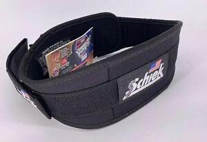 """SCHIEK Weight LIFTING BELT Black 2004 4.75"""" XL"""