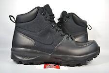NEW Nike Manoa TRIPLE BLACK ACG 456975-001 sz 9.5 WINTER BOOTS SNOW