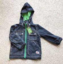 Unisex Kids Danefae Dark Denim Hooded Jacket. Age 3. Autumn. Viking. BNWT
