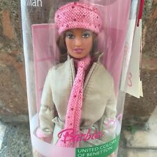Barbie United Colors of Benetton Italy Milan Doll New NRFB