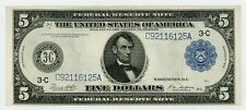 1914 Fr.855a $5 United States (Philadelphia, Pennsylvania) Federal Reserve Note