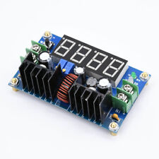 DC 8A 180W Step-down Power Supply Battery Charging Module Voltage Ammeter