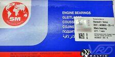 RENAULT MEGANE CLIO 1.9dCi DTI F9Q F8Q 2.0i 1.8i F4R F3P MAIN BEARINGS SET +0.25