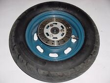 """08 SHANGHAI CHINESE 50 SCOOTER YY50 OEM FRONT WHEEL RIM HUB AND TIRE 10"""" WHEEL"""