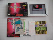 The 7th Saga (NTSC) Super Nintendo SNES Complete in box CIB OVP
