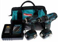 Makita CT200RW 18V Compact Lithium-Ion Cordless 2 Pc Combo Drill Kit (REFURB)