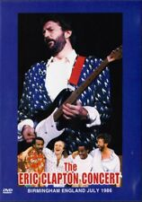 Eric Clapton: Concert in Birmingham (1986) DVD NEW **FAST SHIPPING**