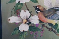 Wildlife Bird Print by William J Whiteside  Signed & Framed