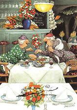 Kunstpostkarte - Inge Löök das Mittagsmahl Nr. 32